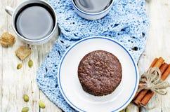 Biscuits sablés de Pepita de chocolat mexicain images libres de droits