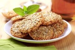 Biscuits sains photographie stock libre de droits
