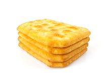 Biscuits salés Photographie stock libre de droits