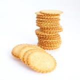 Biscuits salés Images stock