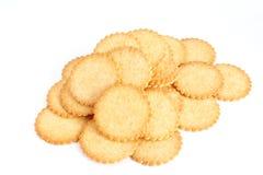Biscuits salés Photos stock