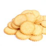 Biscuits salés Image libre de droits