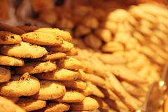 Biscuits for sale in pastry shop Stock Images