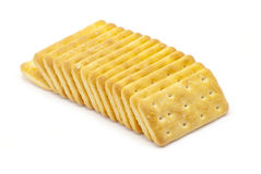 Biscuits with salt Royalty Free Stock Image