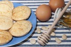 Biscuits sans gluten Image libre de droits