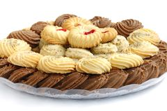 Biscuits savoureux images stock