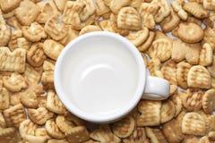 Biscuits savoureux Photos libres de droits