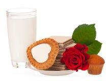 Biscuits savoureux délicieux Image stock