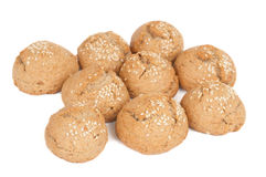Biscuits with sesame Royalty Free Stock Images