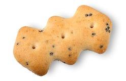 Biscuits simples avec des clous de girofle Images libres de droits