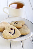 Biscuits with smile Stock Photo