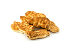 Biscuits sous forme d'animaux Photographie stock