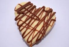 Biscuits sous forme de coeur Photographie stock