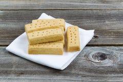 Biscuits sur la serviette photo libre de droits