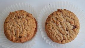 Biscuits sur le fond blanc clips vidéos