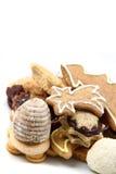 Biscuits tchèques de Noël Photographie stock