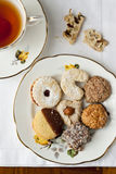 Biscuits and tea Royalty Free Stock Photos