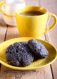 Biscuits and tea Stock Photos