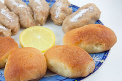 Biscuits traditionnels Photos stock