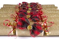 Biscuits traditionnels de Noël Photo stock