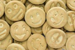 Biscuits un sourire Image libre de droits