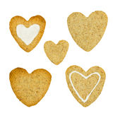 Biscuits for Valentine's day Royalty Free Stock Image