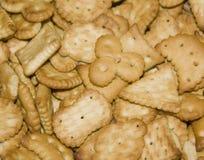 Biscuits vermeils Image libre de droits