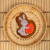 Biscuits vitrés faits maison Image stock