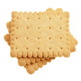 Biscuits On White. Stock Image