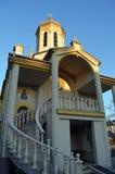 Biserica Hagiu东正教在布加勒斯特,罗马尼亚 免版税库存照片