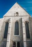 Biserica Reformată de pe UliE?› Lupilor,科鲁Napoca,科鲁,罗马尼亚 免版税库存照片