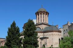 Biserica Sfântul Anton Église à Bucarest, Roumanie Pousse en avril 2018 images libres de droits
