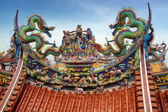 Bishan Temple in Taipei - Taiwan. Royalty Free Stock Image