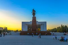 Bishkek Ala Too Square 09 royalty free stock photos