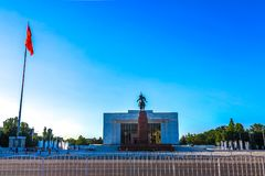 Bishkek Ala Too Square 05 royalty free stock photo