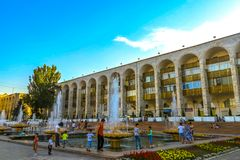 Bishkek Ala Too Square 02 stock photography