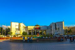 Bishkek Ala Too Square 03 royalty free stock image