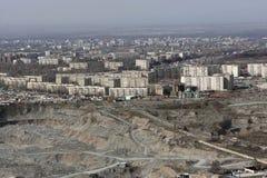 Bishkek is the capital Kyrgyzstan. Bishkek is the capital and the largest city of Kyrgyzstan stock photography