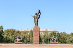 Bishkek Kirgistan, Sierpień, - 25, 2016: Zabytek Revolutio Zdjęcie Royalty Free