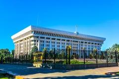Bishkek Kyrgyz Parliament royalty free stock photo