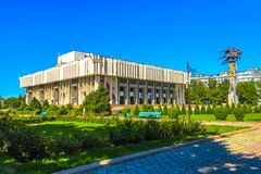 Bishkek Philharmonic Hall 03 stock image