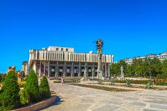 Bishkek Philharmonic Hall 02 royalty free stock images
