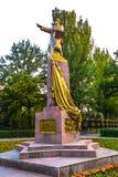 Bishkek Panfilov Statue stock photography