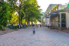 Bishkek Street Life stock images