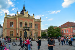 Bishop's Palace in Novi Sad Royalty Free Stock Photography