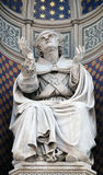 Bishop Agostino Tinacci, Portal of Florence Cathedral Royalty Free Stock Photography