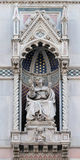 Bishop Agostino Tinacci, Portal of Florence Cathedral Stock Photo
