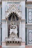 Bishop Agostino Tinacci, Portal of Florence Cathedral Royalty Free Stock Photos