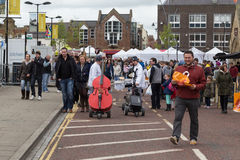 Bishop Auckland Food Festival Royalty Free Stock Image