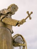 Bishop Baraga statue Royalty Free Stock Photo